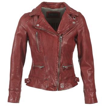 Odjeća Žene  Kožne i sintetičke jakne Oakwood VIDEO Red