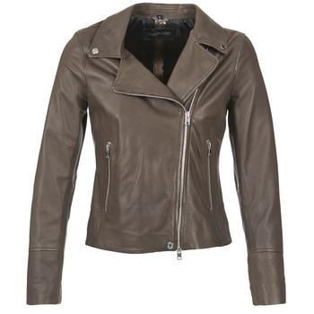 Odjeća Žene  Kožne i sintetičke jakne Oakwood 62049 Siva / Svijetla