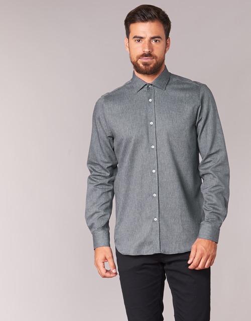 Odjeća Muškarci  Košulje dugih rukava Casual Attitude FOLI Siva
