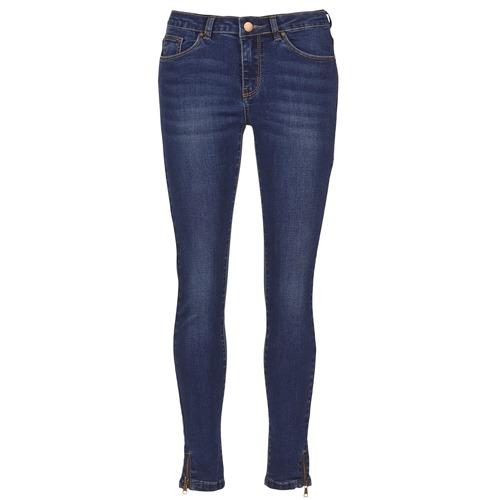 Odjeća Žene  Slim traperice Moony Mood IFABANE Blue