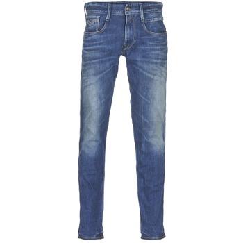 Odjeća Muškarci  Slim traperice Replay ANBASS Blue