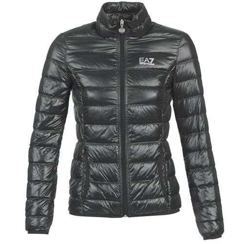 Odjeća Žene  Pernate jakne Emporio Armani EA7 OPIAKO Crna