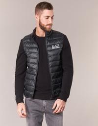 Odjeća Muškarci  Pernate jakne Emporio Armani EA7 ONAFRATO Crna