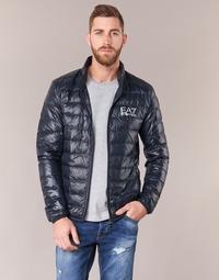 Odjeća Muškarci  Pernate jakne Emporio Armani EA7 JAFOUKARO Blue