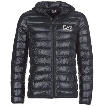 Odjeća Muškarci  Pernate jakne Emporio Armani EA7 ANDOURALO Crna