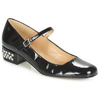 Obuća Žene  Balerinke i Mary Jane cipele Betty London FOTUNOU Crna