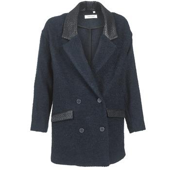 Odjeća Žene  Kaputi Naf Naf ADELAIDE Blue