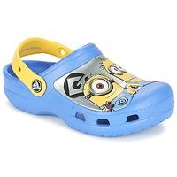 Obuća Djeca Klompe Crocs CC Minions Clog Blue / Žuta
