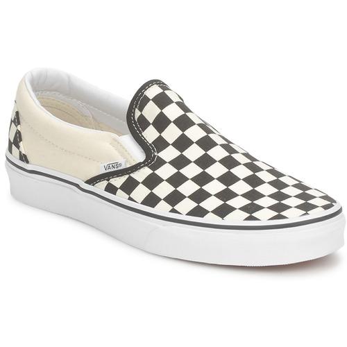 Obuća Slip-on cipele Vans CLASSIC SLIP ON Crna / Bijela