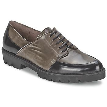 Obuća Žene  Derby cipele Wonders CAMMA Crna / Siva