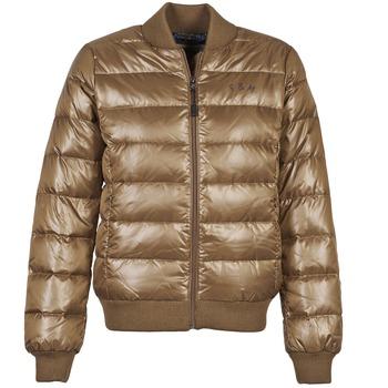 Odjeća Žene  Pernate jakne Franklin & Marshall JKWAL511 Smeđa