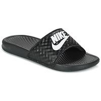 Obuća Žene  Sportske natikače Nike BENASSI JUST DO IT W Crna / Bijela
