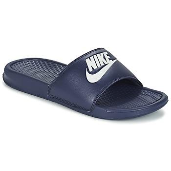 Obuća Muškarci  Sportske natikače Nike BENASSI JDI Blue / Bijela