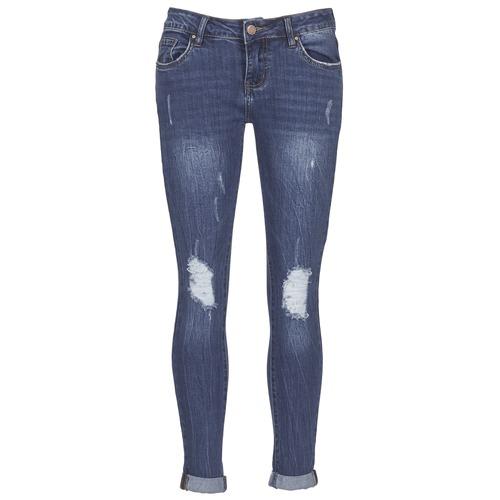 Odjeća Žene  Slim traperice Yurban IFOUNOLE Blue