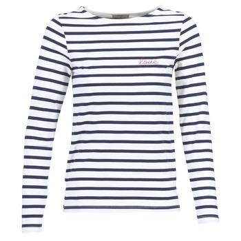 Odjeća Žene  Majice dugih rukava Betty London IFLIGEME Bijela / Blue
