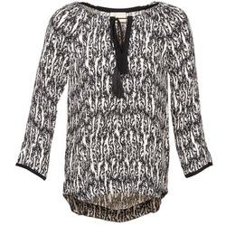 Odjeća Žene  Topovi i bluze Stella Forest BTU010 Krem boja / Crna