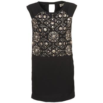 Odjeća Žene  Kratke haljine Stella Forest BRO040 Crna
