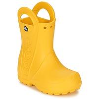 Obuća Djeca Gumene čizme Crocs HANDLE IT RAIN BOOT KIDS Žuta