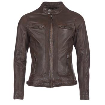 Odjeća Muškarci  Kožne i sintetičke jakne Oakwood CASEY Smeđa