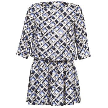 Odjeća Žene  Kratke haljine Manoush MOSAIQUE Siva / Crna / Parma