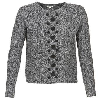 Odjeća Žene  Puloveri Manoush TORSADE Siva / Crna