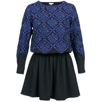 Odjeća Žene  Kratke haljine Manoush GIRANDOLINE Crna / Blue