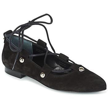 Obuća Žene  Balerinke i Mary Jane cipele Sonia Rykiel 622107 Crna