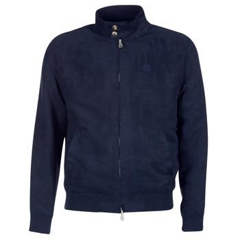 Odjeća Muškarci  Kožne i sintetičke jakne Serge Blanco FIDENZA Blue