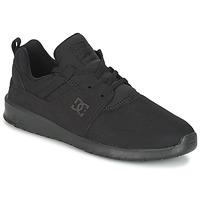 Obuća Muškarci  Niske tenisice DC Shoes HEATHROW M SHOE 3BK Crna