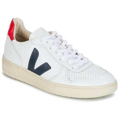 Obuća Niske tenisice Veja V-10 Bijela / Blue / Red