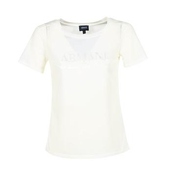 Odjeća Žene  Majice kratkih rukava Armani jeans KAJOLA Bijela