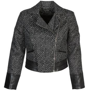 Odjeća Žene  Kratke jakne Fornarina SELINE Siva / Crna