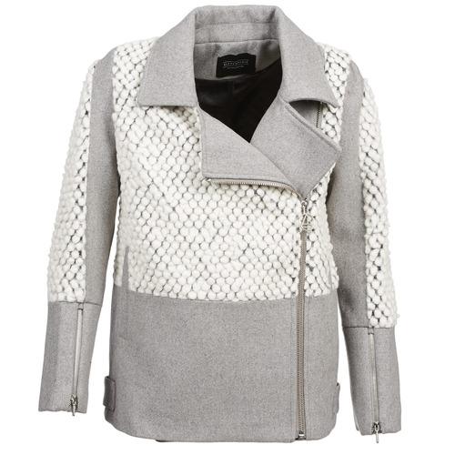 Odjeća Žene  Kaputi Eleven Paris FLEITZ Siva / Bež
