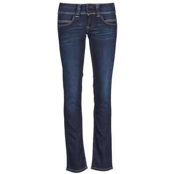 Odjeća Žene  Traperice ravnog kroja Pepe jeans VENUS Blue / H06