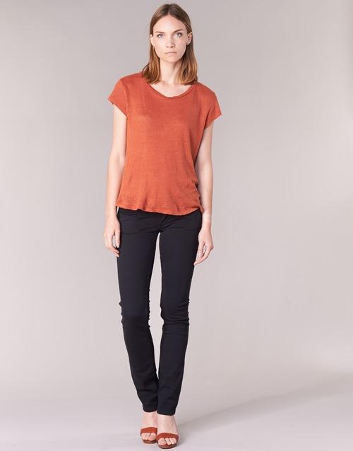 Odjeća Žene  Hlače s pet džepova Pepe jeans VENUS Crna