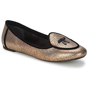Obuća Žene  Balerinke i Mary Jane cipele Etro 3078 Zlatna