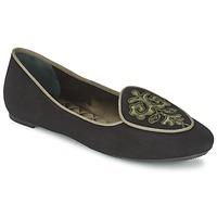 Obuća Žene  Balerinke i Mary Jane cipele Etro 3059 Crna / Kaki