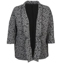 Odjeća Žene  Jakne i sakoi Sisley FRANDA Crna / Siva
