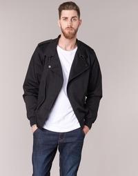 Odjeća Muškarci  Kratke jakne Harrington HARRINGTON ELVIS Crna