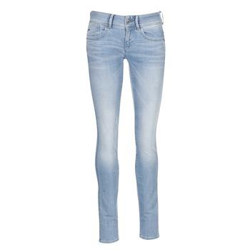 Odjeća Žene  Skinny traperice G-Star Raw LYNN MID SKINNY Blue / Svijetla