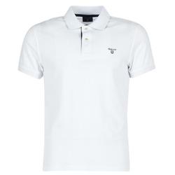 Odjeća Muškarci  Polo majice kratkih rukava Gant CONTRAST COLLAR PIQUE Bijela