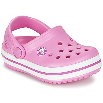 Obuća Djevojčica Klompe Crocs Crocband Clog Kids Ružičasta