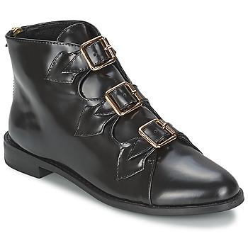 Obuća Žene  Gležnjače F-Troupe Triple Buckle Boot Crna