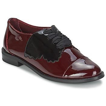 Obuća Žene  Derby cipele F-Troupe Butterfly Shoe Burgundy