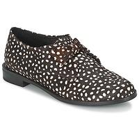 Obuća Žene  Derby cipele F-Troupe Bow Polka Crna / Bijela