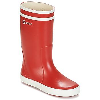 Obuća Djeca Gumene čizme Aigle LOLLY POP Red / Bijela