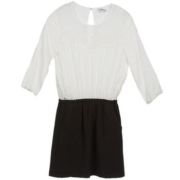 Odjeća Žene  Kratke haljine Suncoo CELESTINE Crna / Bijela