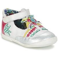 Obuća Djevojčica Balerinke i Mary Jane cipele Catimini PANTHERE Vte / Bijela-srebrna / Dpf / Belen