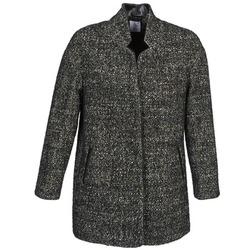 Odjeća Žene  Kaputi Alba Moda XOLLO Siva / Raznobojno tkanje