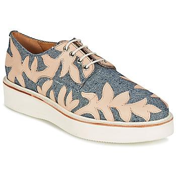 Obuća Žene  Derby cipele Melvin & Hamilton MOLLY 11 Blue / Bež